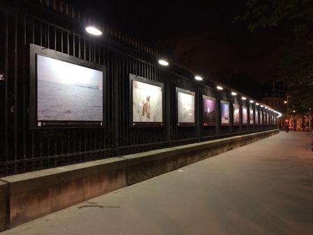 Escourbiac soutient l 39 appel du froid sur les grilles du jardin du luxembourg escourbiac l - Jardin du luxembourg exposition ...