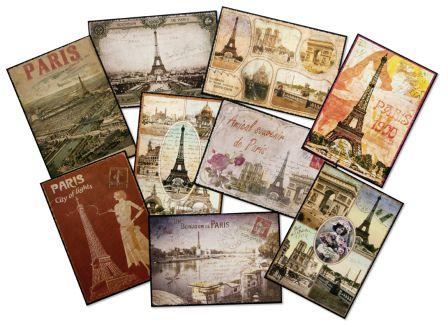 Cartes Postales Paris Vintage Escourbiac L 39 Imprimeur