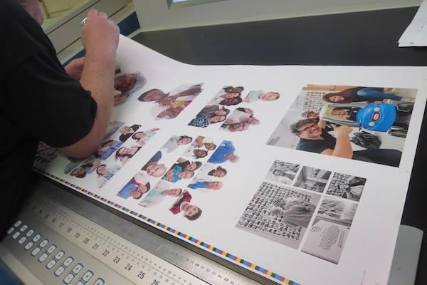 Calage de l'impression du livre LOL Project chez Escourbiac à Graulhet