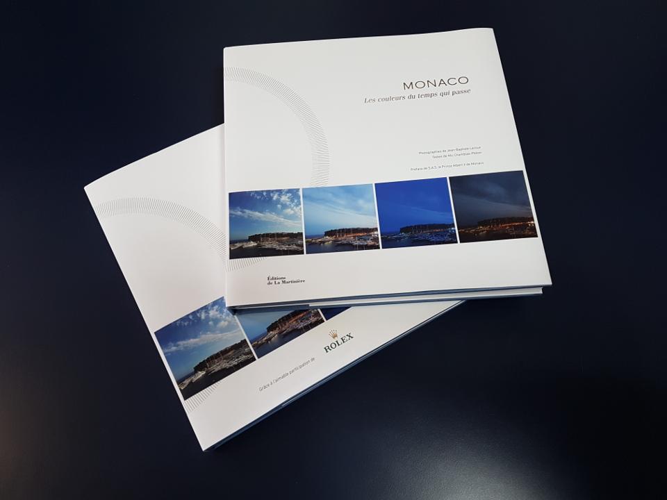 Monaco, Jean-Baptiste Leroux, Editions de La Martinière, couverture