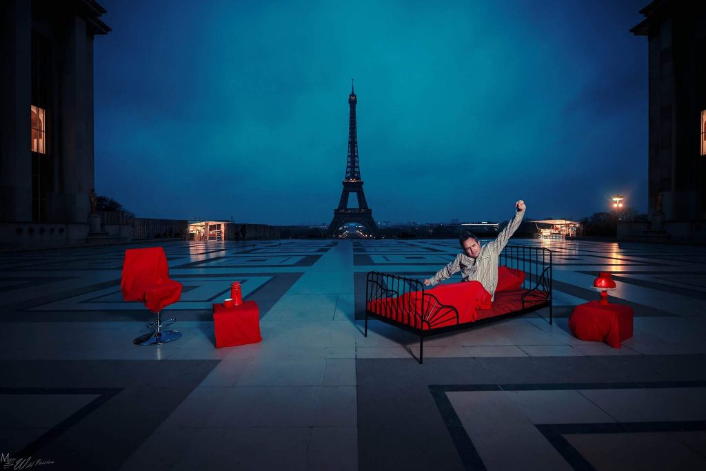 Paris s'éveille, photo Marc Lamey
