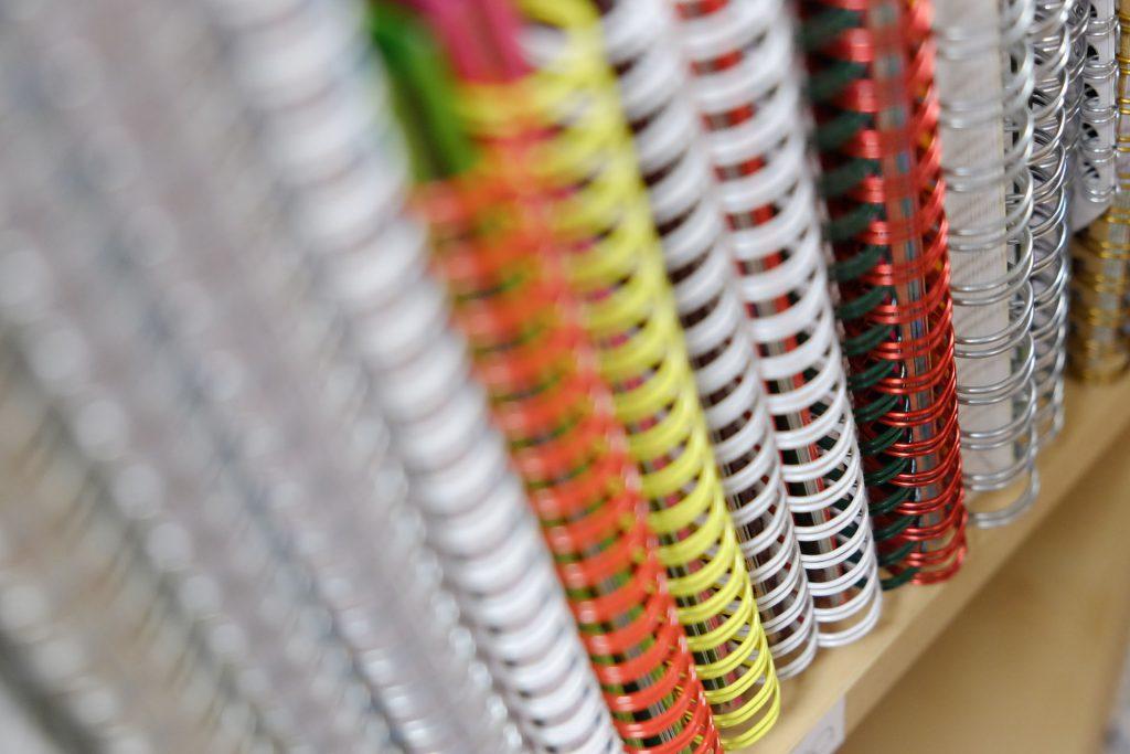 Reliure Wire-o Copyright Groupe Padovanna
