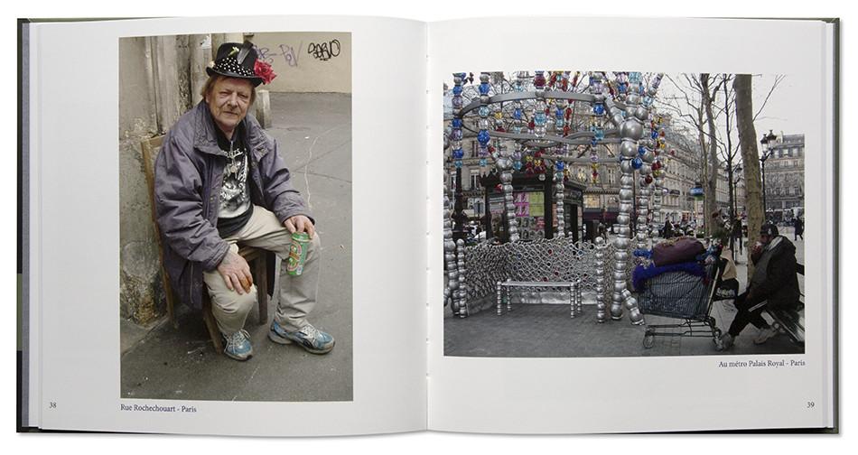Le temps d'une pause, beau livre photo de Jeannine Laik