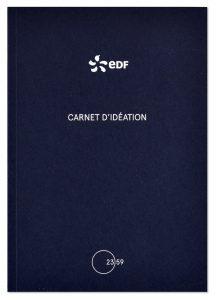 Carnet d'idéation, EDF