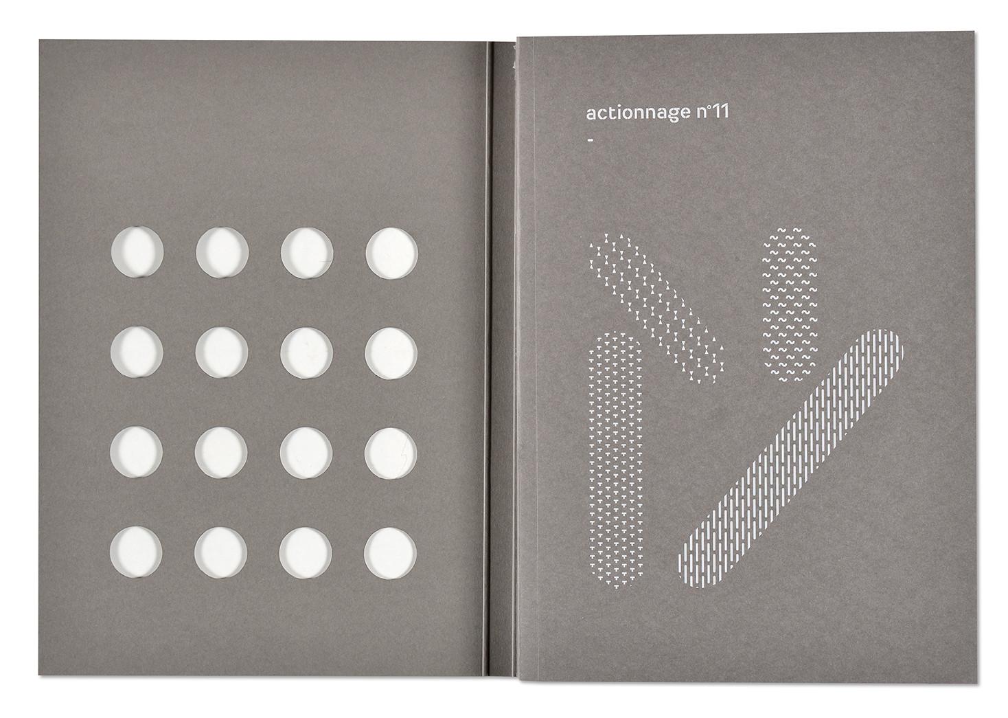 Habiter la cour, actionnage n°11, collectif, Sometimes Studio, couverture ouverte
