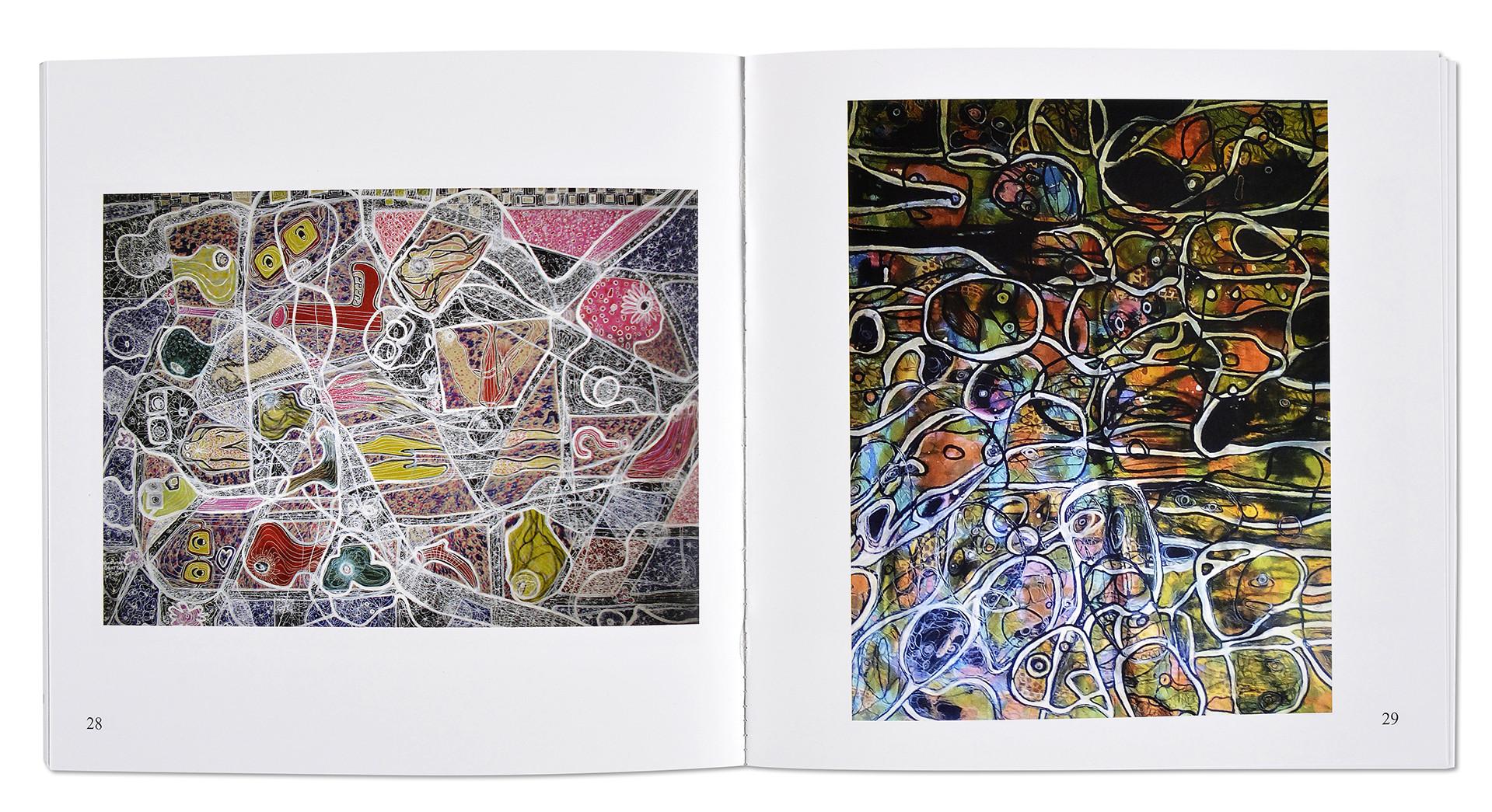 Catalogue d'art Hyacinthe Ouattara, intérieur