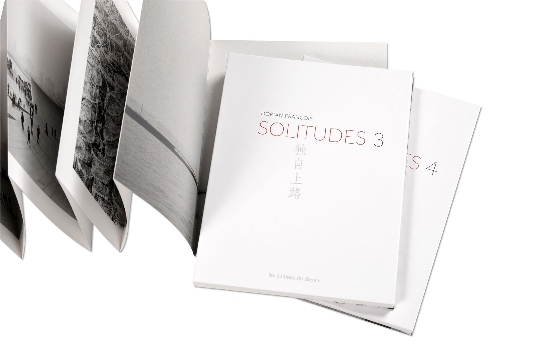 Solitudes, Dorian François, livres dépliants Leporello