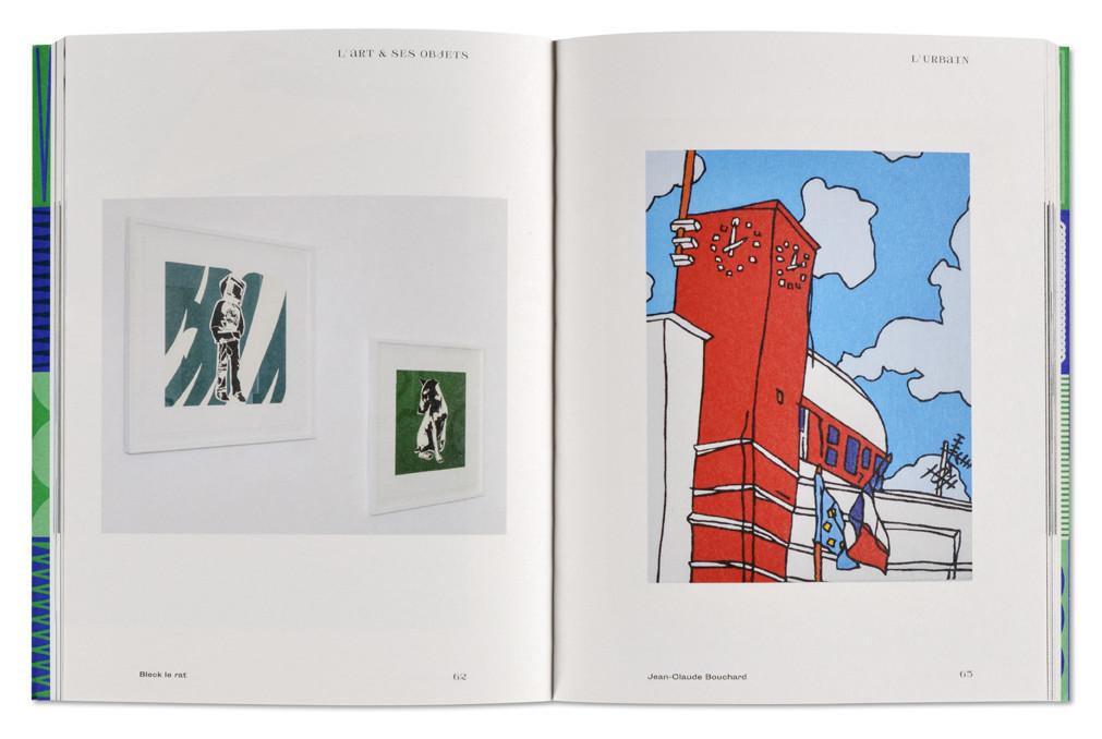 L'art & ses objets, La Galerie Épisodique, intérieur livre ouvert