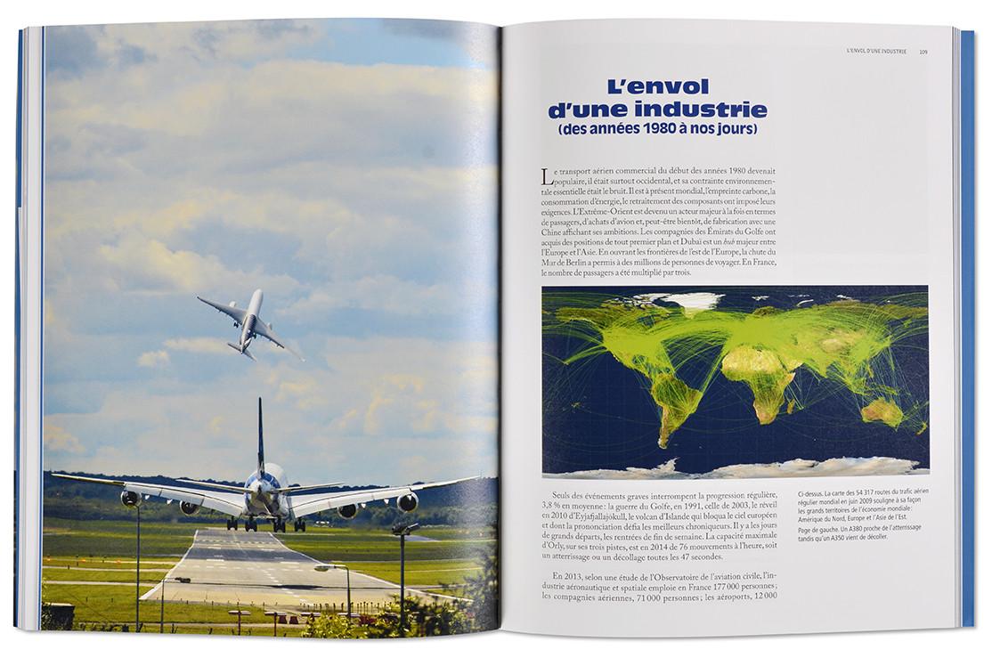 Les métiers de l'aviation, histoire & patrimoine, Nouvelles éditions loubatières, intérieur livre ouvert