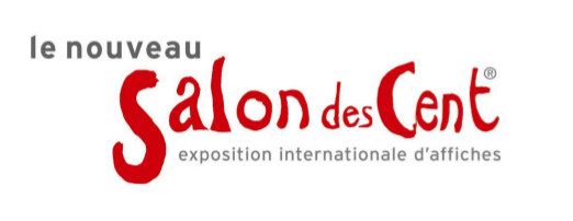 Logo du nouveau Salon des Cent, exposition internationale d'affiches
