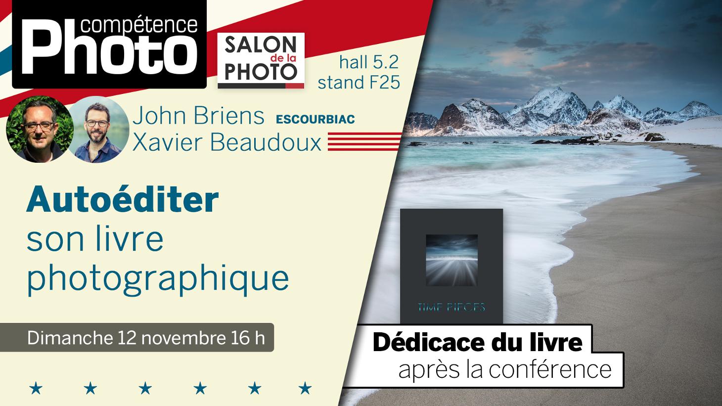 Autoéditer son livre de photographie, conférence Compétence Photo, Salon de la Photo, Paris 2017
