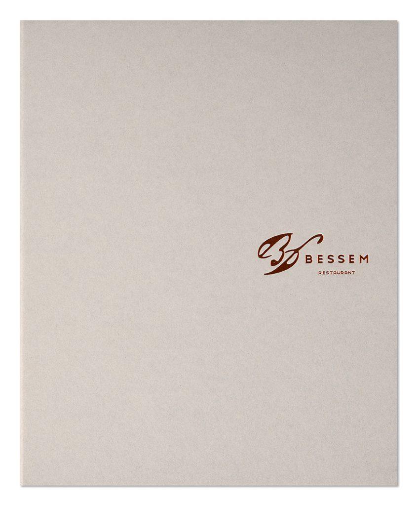 Façonnage d'exception, Porte-addition, Bessem Restaurant