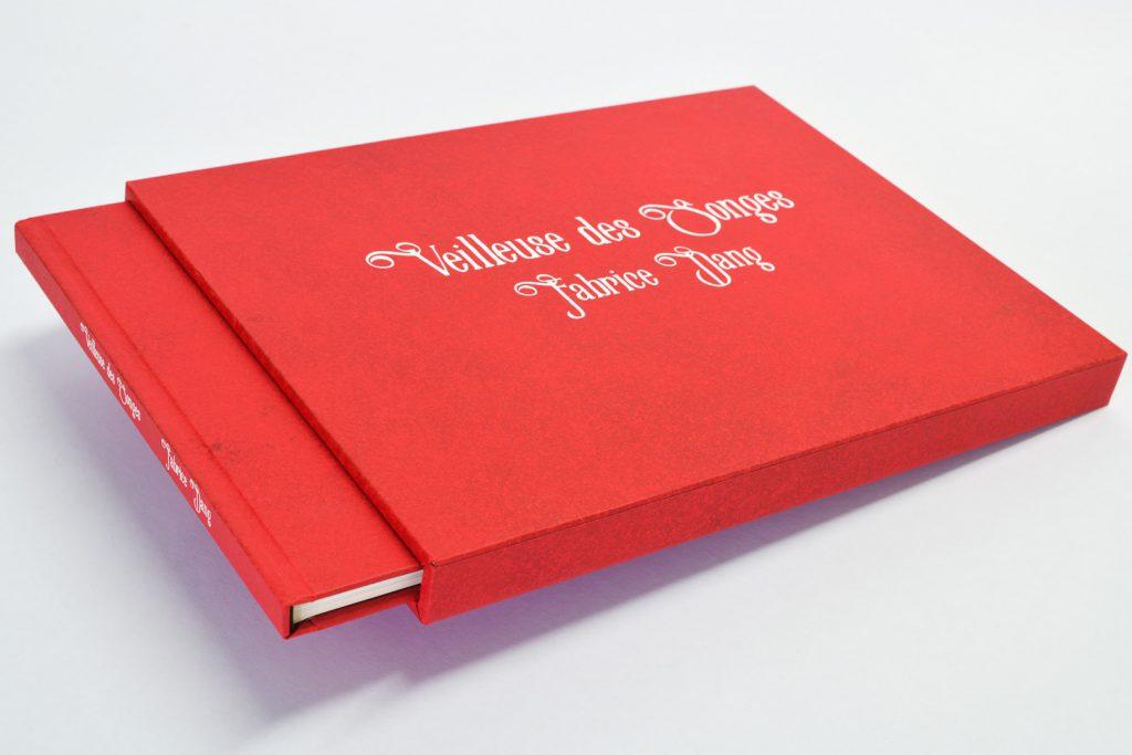 Coffret et livre Veilleuse des songes, Fabrice Dang