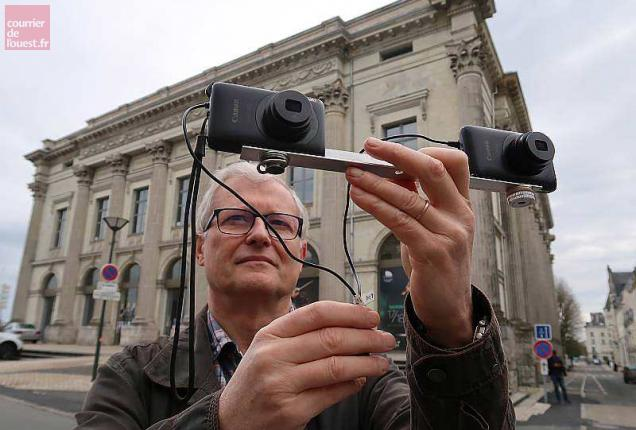 impression livre 3D, Escourbiac, Pierre Saint Ellier, Saumur en 3D