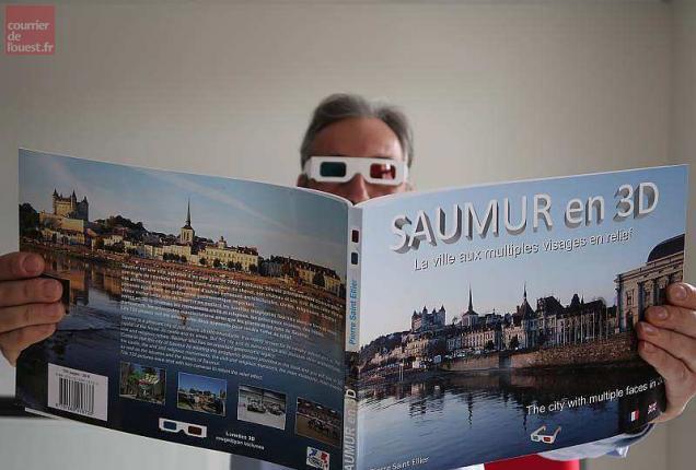 Courrier de l'ouest, Saumur 3D, la ville aux multiples reliefs