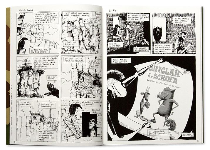 La brebis galeuse - 2. Élections, piège à moutons, Muriel Lacan, Les éditions du Larzac, intérieur