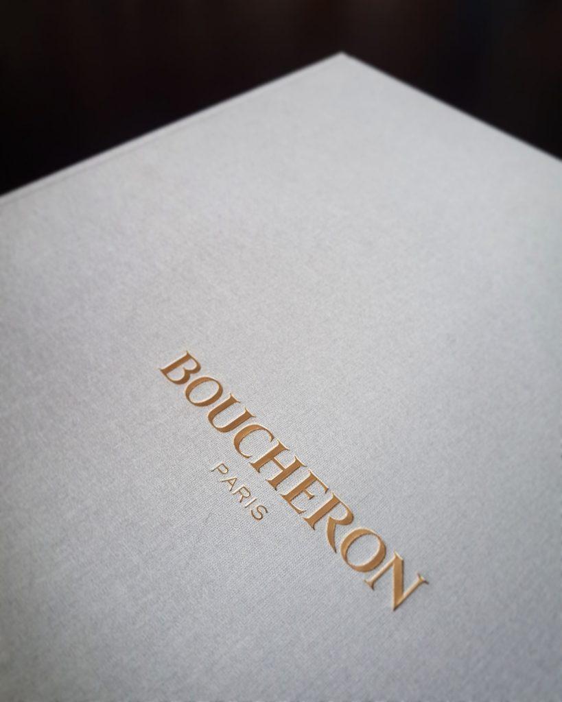 Boucheron, Carnet de gouache