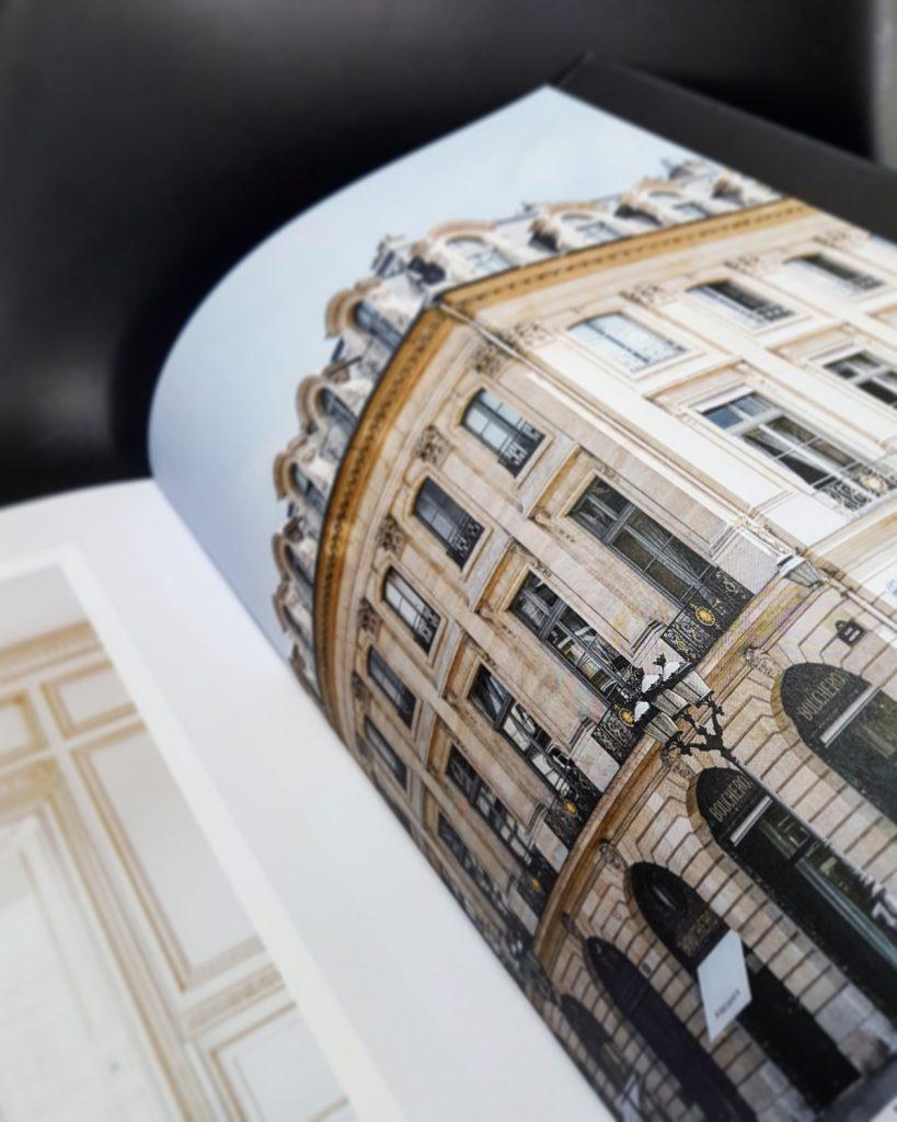 Boucheron, joaillier libre, beau livre, bâtiment 29 rue Vendôme