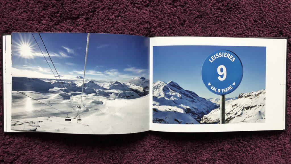 Christian Arnal, Nom D1 Piste, Focus sur l'auto-édition, Val d'Isère, livre ouvert