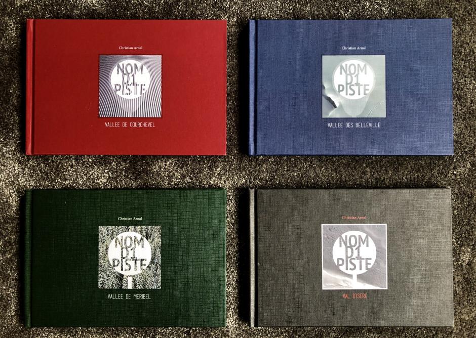 Christian Arnal, Nom D1 Piste, Focus sur l'auto-édition, les 4 livres
