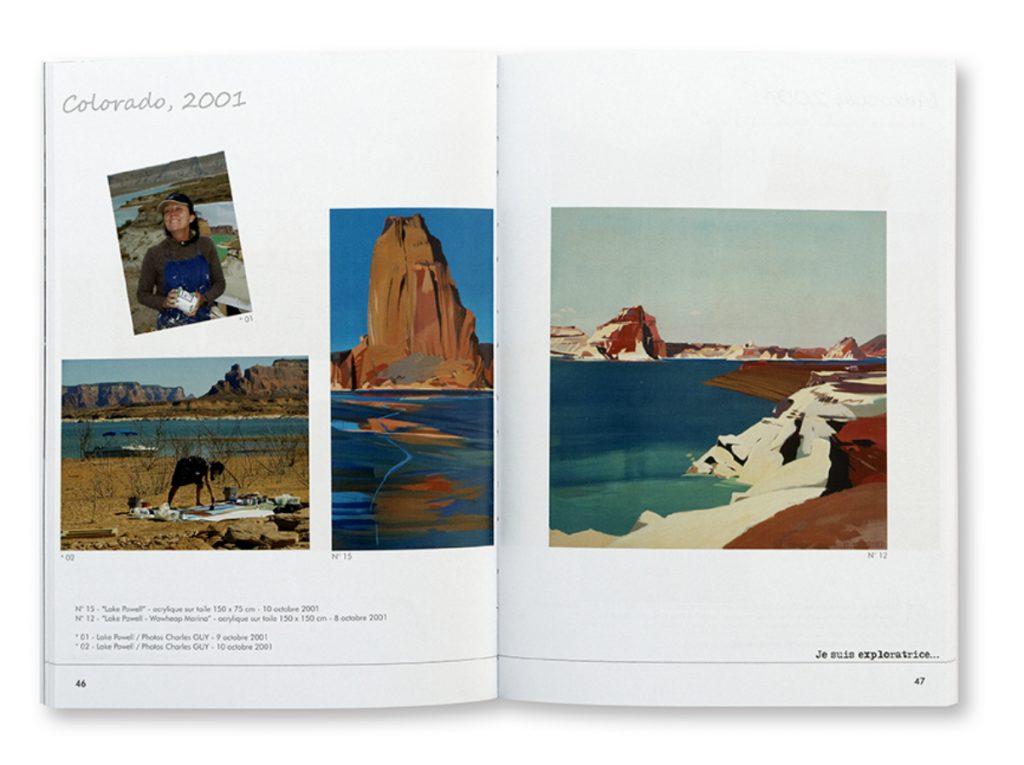 Auboiron, Worlwide, La peinture, l'architecture, le monde et moi, Michelle Auboiron, intérieur