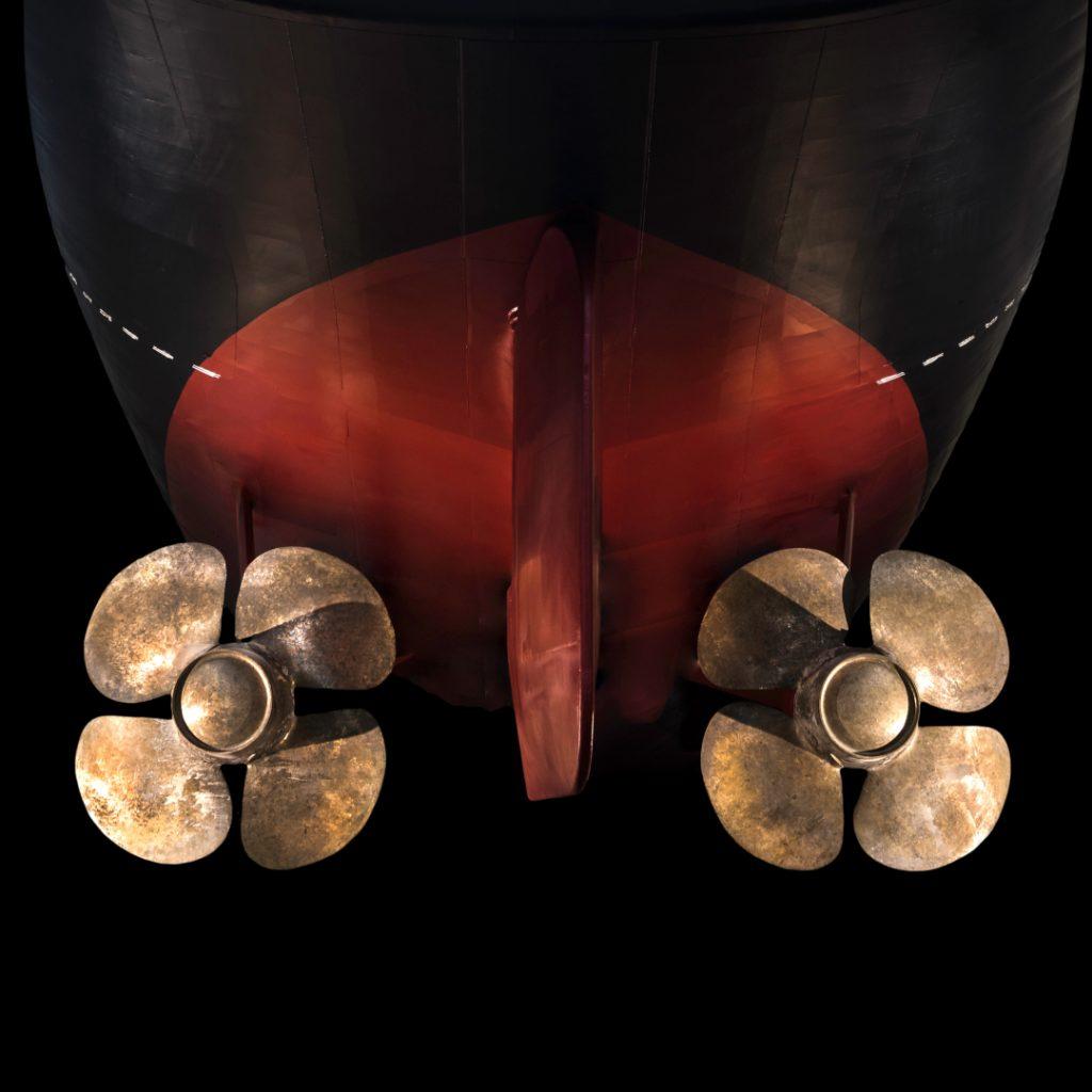 Ewan Lebourdais, Carènes, Hélices bateau