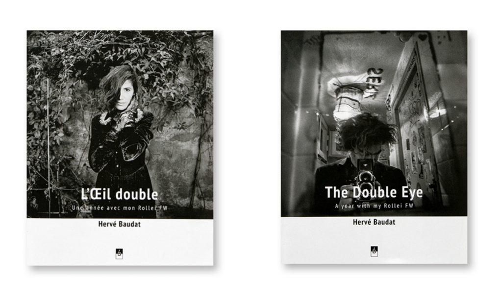 L'Oeil double / The Double Eye, Hervé Baudat, Bergger édition, couvertures version française et anglaise