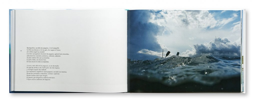 Balade en bleu, Paseo azul, Bernard Vinceneux, intérieur