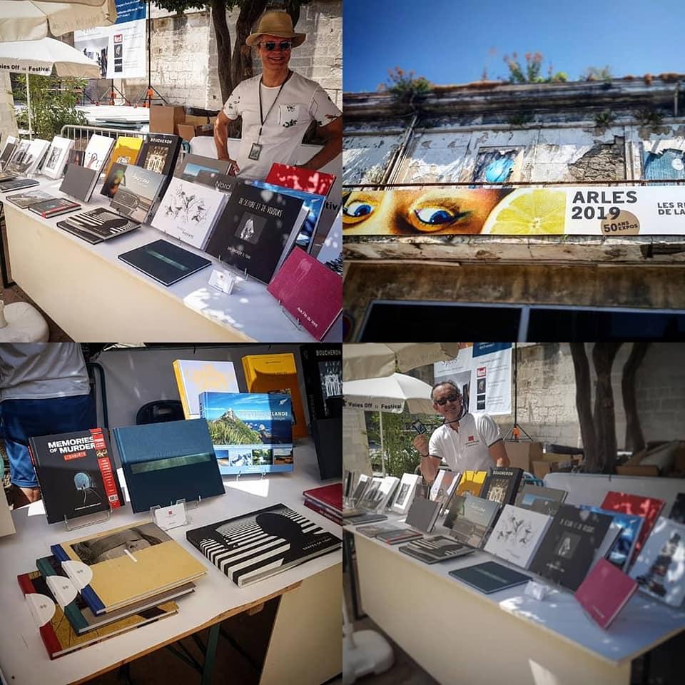 Escourbiac au Festival Voies Off :: Arles 2019, Cour de l'Archeveché