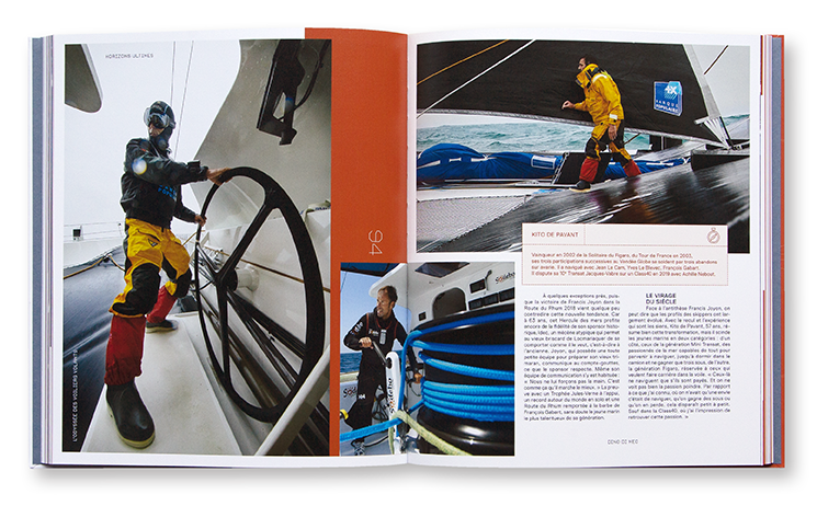 Horizons Ultimes, l'Odyssée des voiliers volants, éditions Appaloosa, Anamosa, intérieur