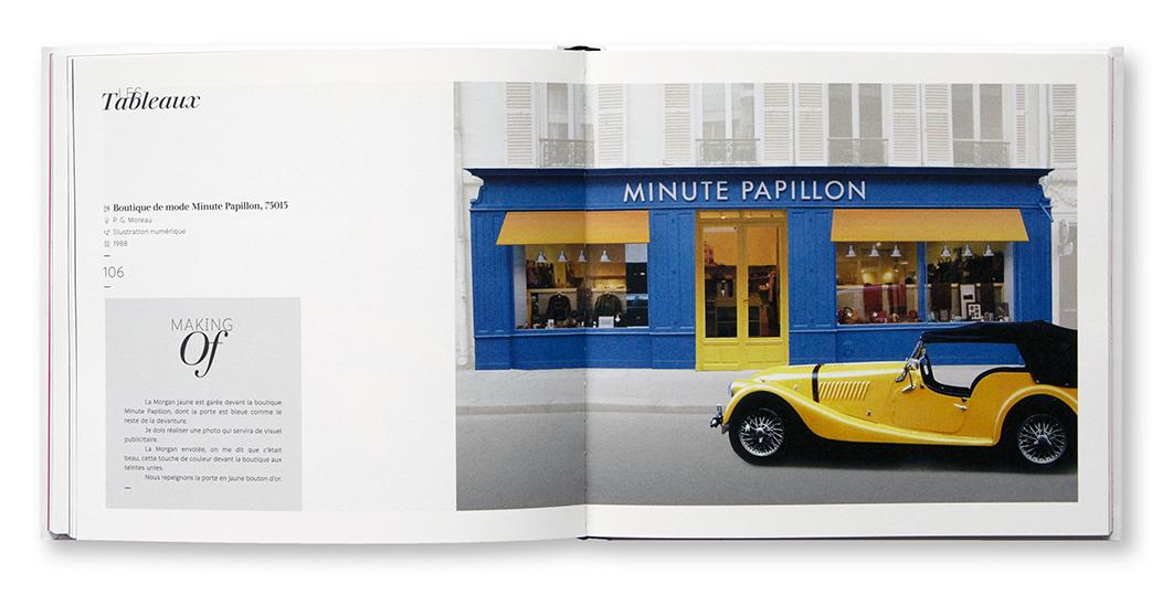 Minute Papillon, Philippe G. Moreau, Mi!pa, intérieur