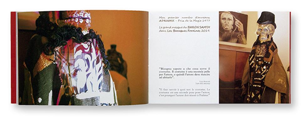 Vanités, Adrienne Larue, intérieur