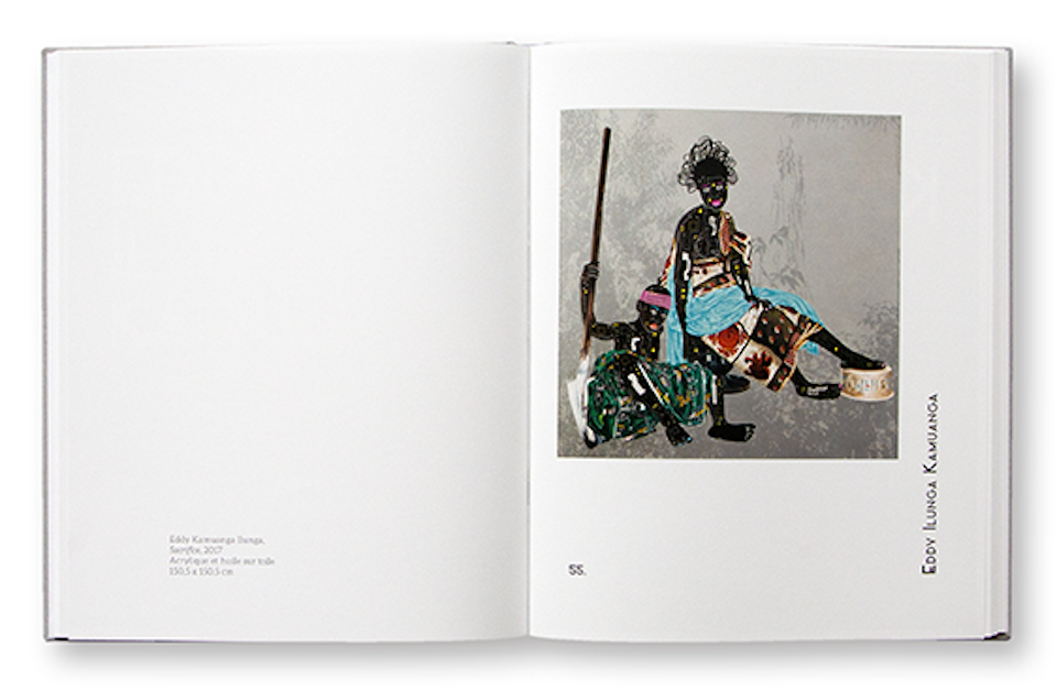 Art Contemporain Africain, Collection Alberto Cortina, BDA / BDK, n°1, intérieur