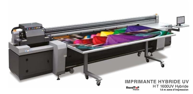Imprimante Numérique UV grand format hybride Handtop HT1600