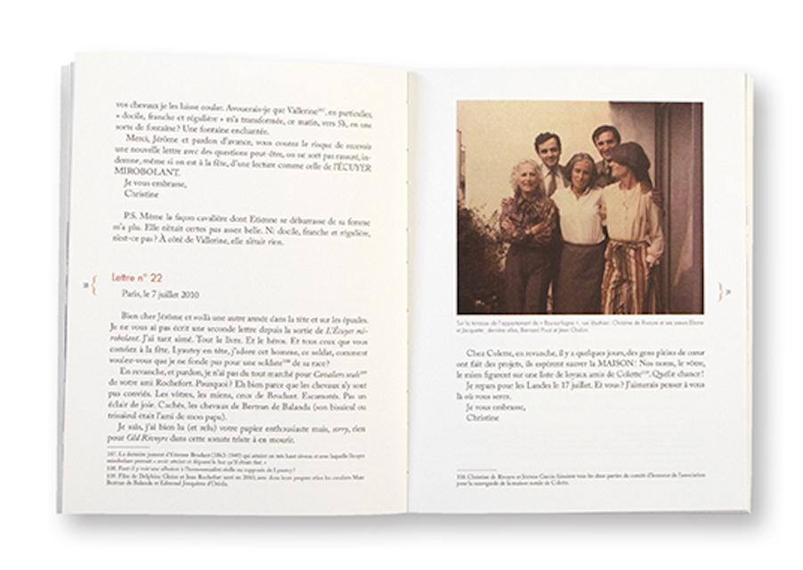 Cahiers Christine de Rivoyre n°2, Les amis de Christine de Rivoyre, intérieur