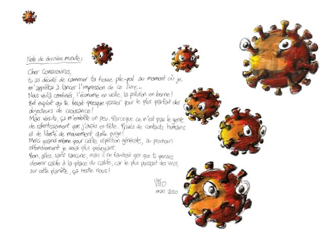 Focus sur l'auto-édition : Vito, Utopique !, note de dernière minute, cher coronavirus