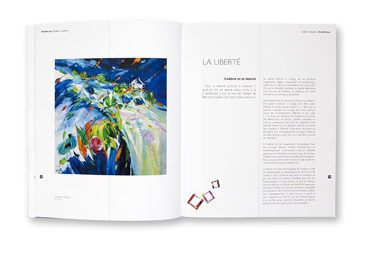 Double Jeu - Bernard Cadène - Philippe Gauberti - Centre d'Art Contemporain / Le Grand Presbytère - Martres-Tolosane - intérieur