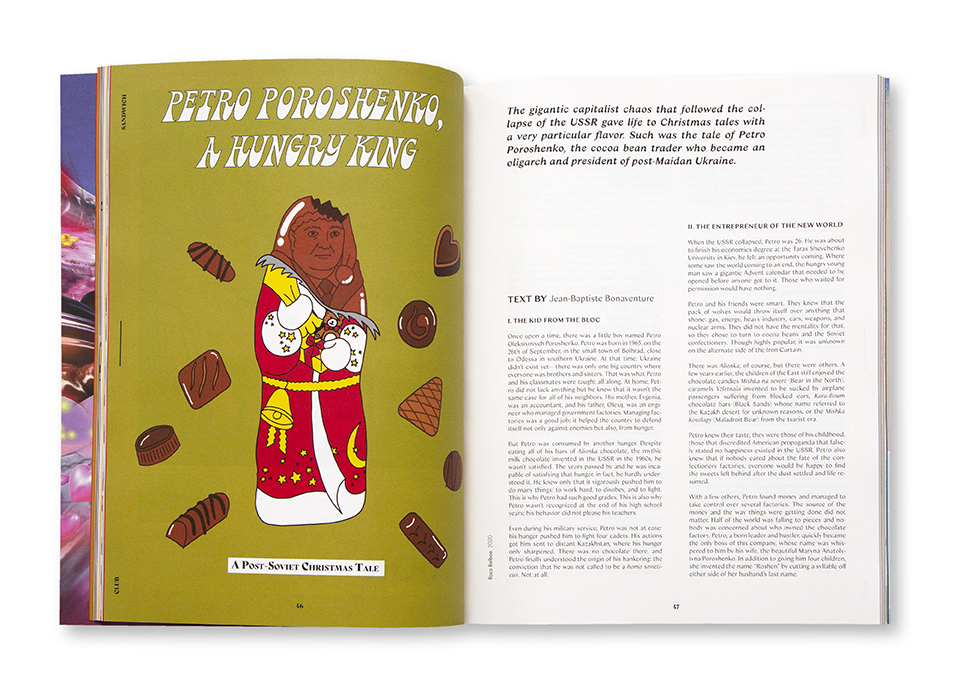 Club Sandwich n°4 - The Chocolate Issue - intérieur