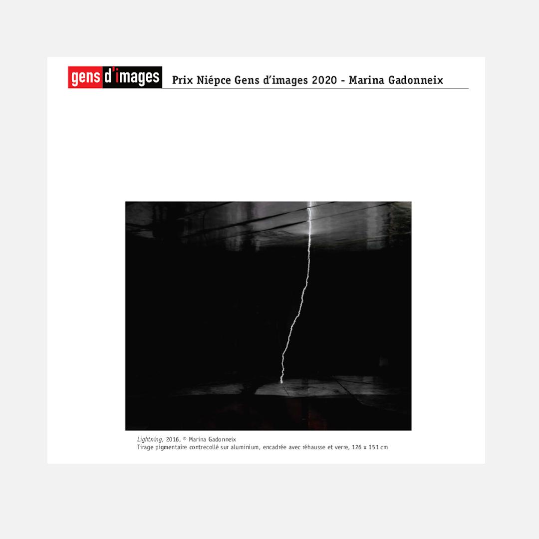 Marie Gadonneix, Prix Niepce Gens d'Images 2020
