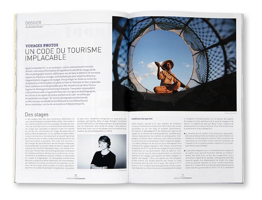 Profession Photographe n°42, mai juin 2020, intérieur