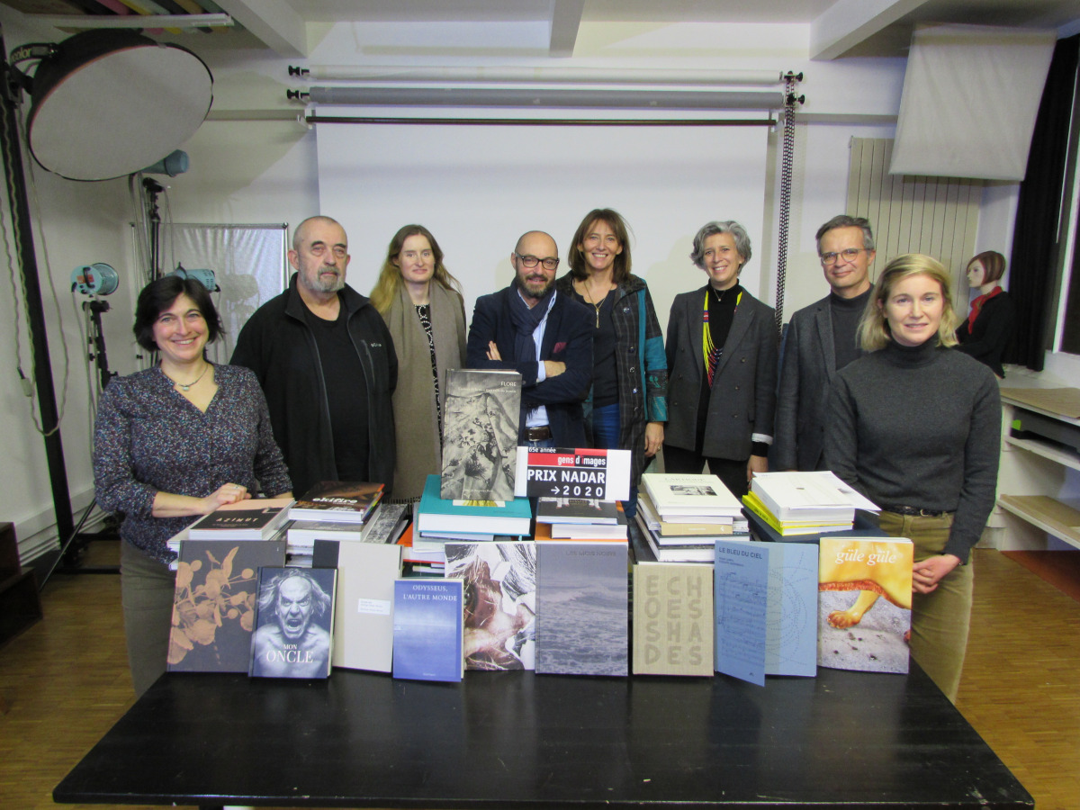 Jury du Prix Nadar gens d'images 2020 - Photo G. Tordjman