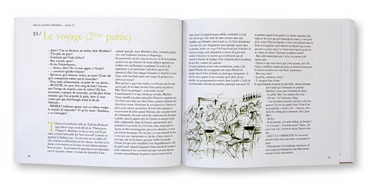 La musette à Matthieu, Tome 3, Henri Limouzin, auto-édition, intérieur