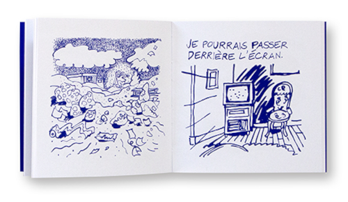 Télétexte, Fanny Grosshans, Radio as Paper, intérieur