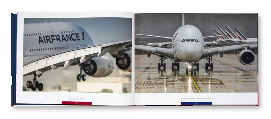 A380 AF sous l'objectif de Pol Bacquet, autoédition, intérieur