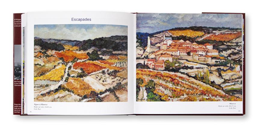 Alex Tomaszyk, le bonheur de peindre, éditions Bleu Pastel, intérieur