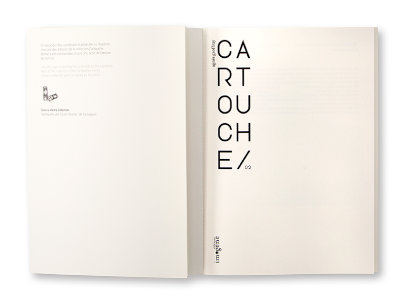 Cartouche 02, éditions imogène, Agnès Geoffrey intérieur