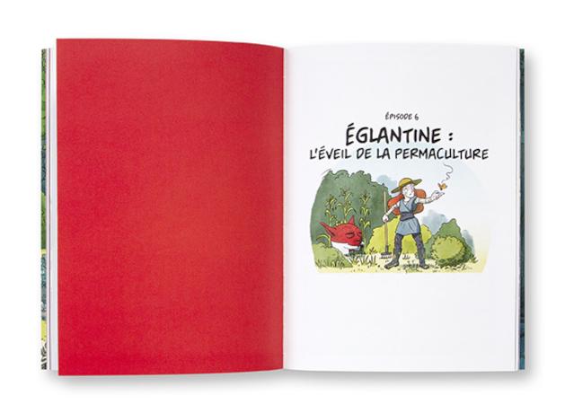 La folle histoire des plantes, la BD qui ne raconte pas de salades, Tome 1, Sandrine Boucher, Matthieu Ferrand, Terre vivante