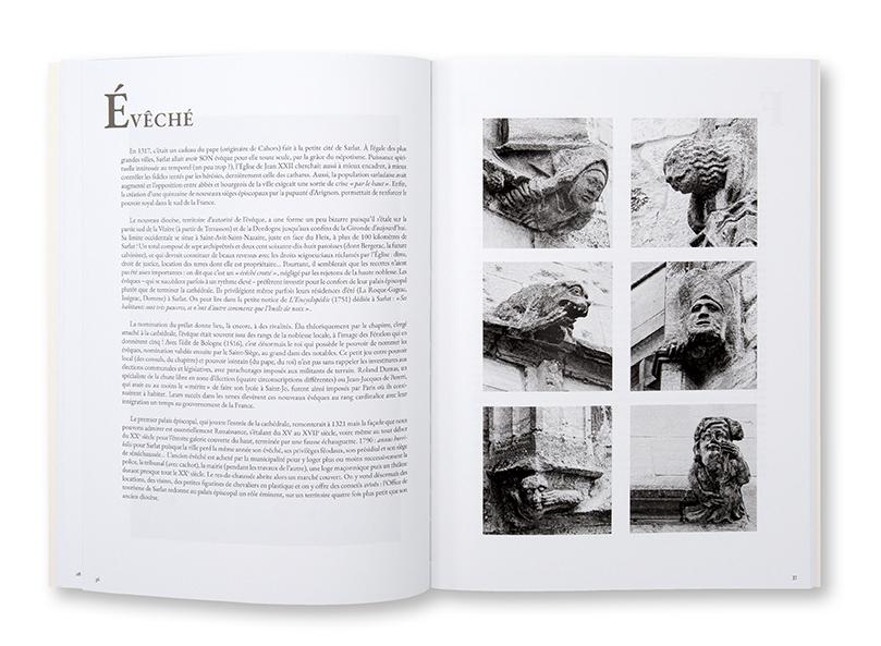 Sédiments 12 : Abécédaire amoureux de Sarlat, Les Éditions du Ruisseau, intérieur
