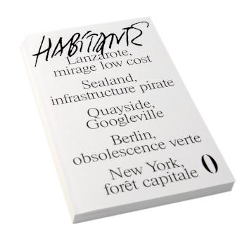 Revue Habitante n°0, Les Éditions Présentes, couverture