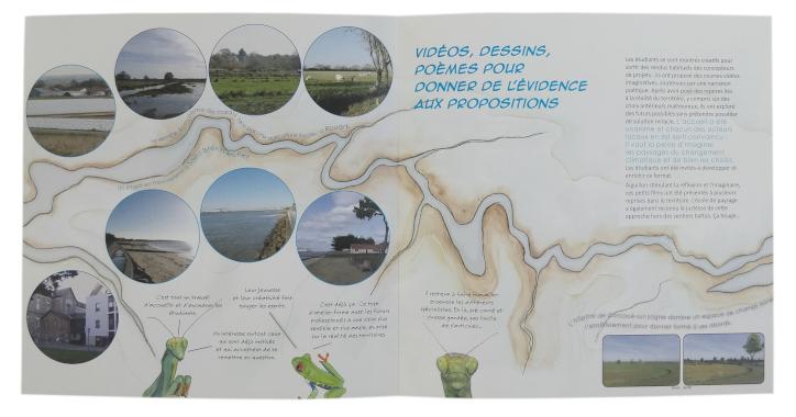 Les paysages pour envisager autrement les changements climatiques, Collectif Paysages de l'Après-Pétrole, Léporello, couverture